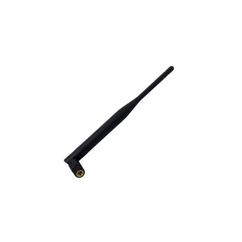 Antena WIFI 5dBi 2,4GHz czarna 172mm. SMA(z pin) / PLY207 aks