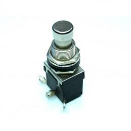 Przełącznik przycisk chwilowy 230V 2A 2-poz 1-tor 1xNO czarny
