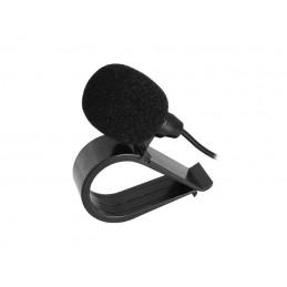 Mikrofon z klipem z wtykiem Jack 3,5mm mono z przewodem 2,7m