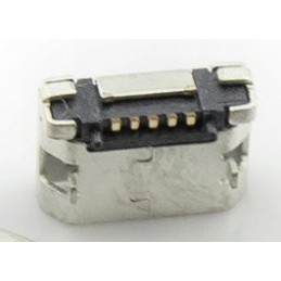 Gniazdo micro-USB 5-pin + 2-nogi do SMD / 005
