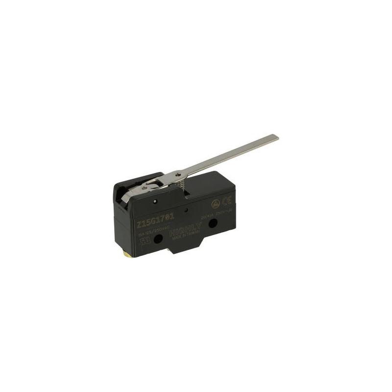 Mikroprzełącznik Z15G1701 z dżwignią 63mm 15A/250V HIGHLY