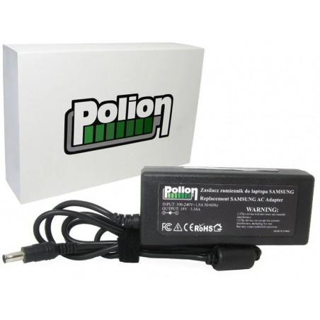 Zasilacz laptopa 19V/3,16A 60W (5,5x3,0) do SAMSUNG / Polion Z005