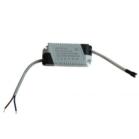 Zasilacz do LED prądowy 250mA 24V-42V 12W plastik