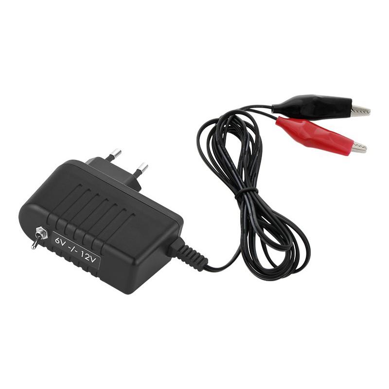 Ładowarka akumulatorów żelowych 12V lub 6V 750mA / 4628