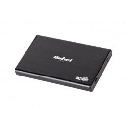 """Kieszeń na dysk HDD 2,5"""" S-ATA USB C aluminiowa / KOM0975"""