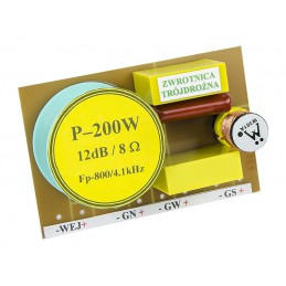 Zwrotnica głośnikowa trójdrożna 200W 8ohm