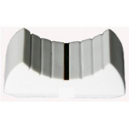 Gałka - nasadka na potencjometr suwakowy S-1 biała [00037]