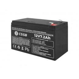 Akumulator żelowy 12V 7,2Ah 150x94x66