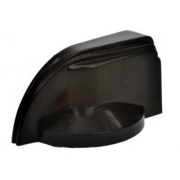 Gałka N-ŻC/BK 32/24mm plastik czarna oś 6mm / 15848