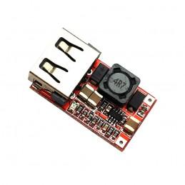 Zasilacz 5V/3A USB montażowy - przetwornica DC/DC 12-24V