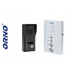 Domofon 1-LOK. ORNO-ELUVIO bezsłuchawkowy biały - 71-155