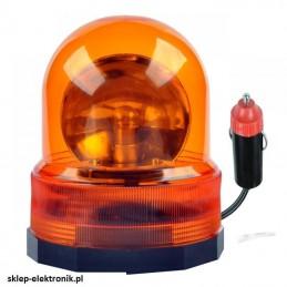 Kogut - lampa ostrzegawcza pomarańczowa 12V - URZ0070 - 008710