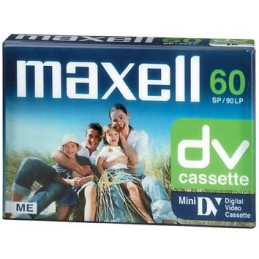 Kaseta MiniDV DVM-60 MAXELL
