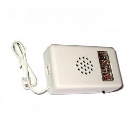 Sygnalizator dzwonka telefoniczny dżwiękowo-optyczny (czerwony)