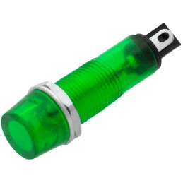 Kontrolka 10mm 230V zielona...