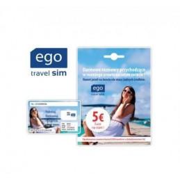 EGOtravelsim zestaw startowy z doładowaniem 5 euro