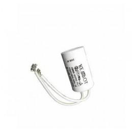 Kondensator rozruchowy 3u75F/450V AGD z przewodami