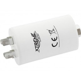 Kondensator rozruchowy 1uF/450V AGD z konektorami