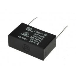 Kondensator rozruchowy 3uF/450V AGD prostokątny