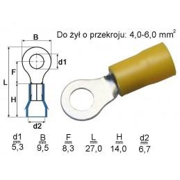 Konektor oczkowy KOY-5 601042