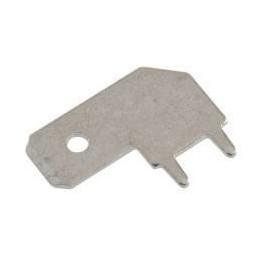 Konektor do druku kątowy wtyk 6,3mm FS1573