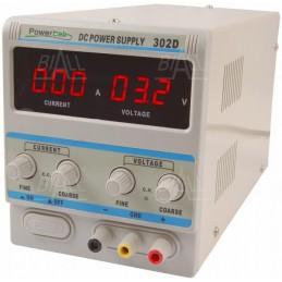 Zasilacz laboratoryjny 302D 0-30V-0-2A - 115202