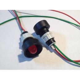 Kontrolka LED 10mm 24V AC-DC czerwona LR-D10-24V (Robert)
