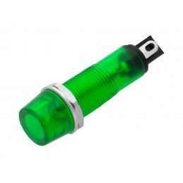 Kontrolka 6mm 230V zielona