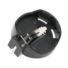 Podstawka pod CR2032, pojemnik baterii mont.poziom - 3864
