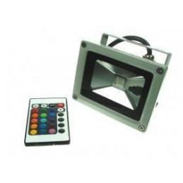 Lampa halogen LED 10W RGB+PILOT - 2034 - 3838 lvt