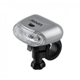 Lampa rowerowa przednia 5LED 3-funkc. - URZ0067