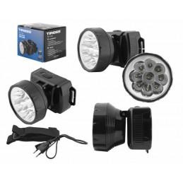 Latarka czołowa 9-LED TS-1141 z akumulatorem - LXL582