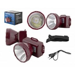 Latarka czołowa 1-LED TS-1140 z akumulatorem - LxL558