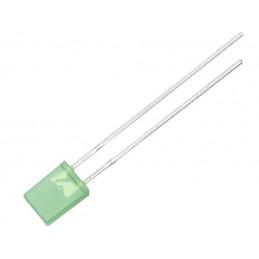 Dioda LED 2-5mm zielona matowa - 6010