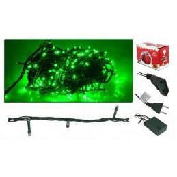 Lampki choinkowe 100 LED zielone (8m) - Lx AS108