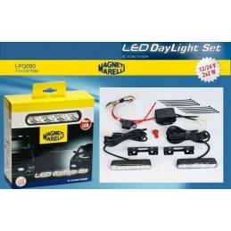 Światła do jazdy dziennej DRL Magneti Marelli 4W 12-24V LPQ080 713121617080