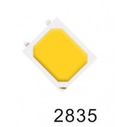 Dioda LED SMD 2835 biała ciepła -mw-