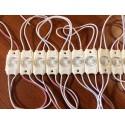 Moduł LED 36x18x7mm 12V 1.44W 130 lm biały neutralny 6500K IP65 12VDC