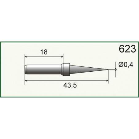 Grot do stacji lut. SL10-20-30 0,4mm - SR623 - 07736