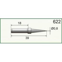 Grot do stacji lut. SL10-20-30 0,8mm - SR622