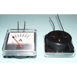 Amperomierz 12A kwadratowy+bocznik WP12 z drutami