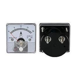 Amperomierz 20A kwadratowy+bocznik - 2153