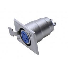 Gniazdo mikrofonowe XLR 3-pin do obudowy - 2211