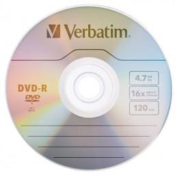 DVD-R VERBATIM 4.7GB luz