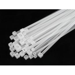 Opaska zaciskowa 2,5x100mm biała OZN-25-100 / 41-044