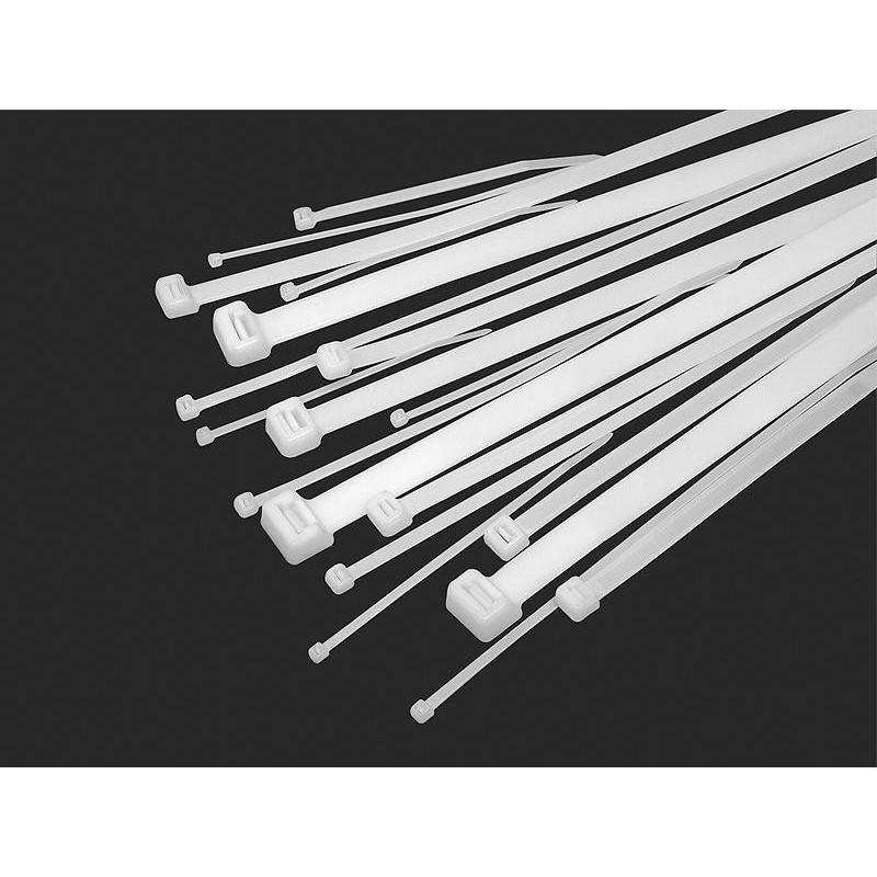 Opaska zaciskowa 2,5x60mm biała OZN-25-060 / 41-041