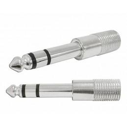 Przejście Jack wt.6,3st-gn.3,5st metal - Lx4046 - ZLA0324