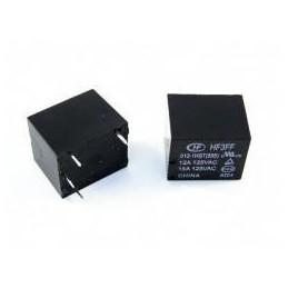 Przekażnik 12V-10A JQC-HF3FF-012-1HST (4-nóżki) 1 styk zwierny - 009917