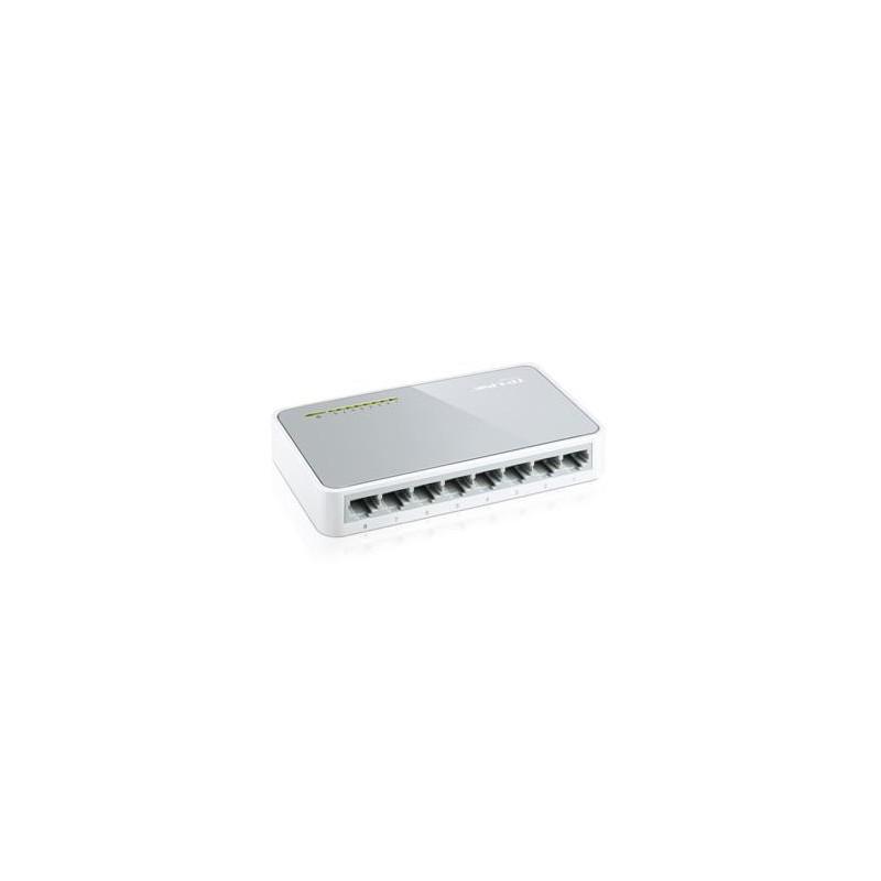Switch 8-portowy TP-LINK TL-SF1008D 8xRJ45 100Mb