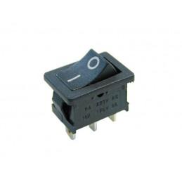 Przełącznik klawisz MK1012C 2-poz mały czarny - 2920 - 14723